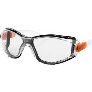 Majestic M-Safe Riot Shield Safety Glasses & Goggles | Clear Anti-Fog