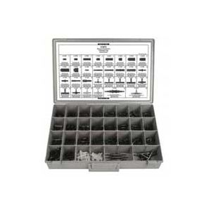Universal Vacuum Connector & Rubber Cap Assortment (280 Pcs)