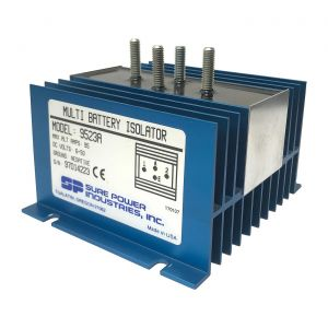 Sure Power 95 Amp Multi-Battery Isolator | 1-Input, 2-Output