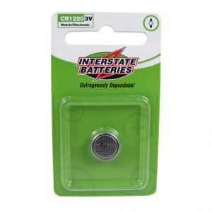 Interstate Batteries: CR1220 Coin / Button Battery