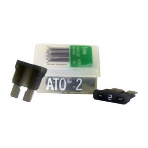 Littelfuse ATO Series Fuse   2 Amp   5 Pack