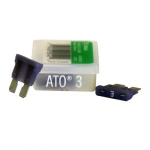 Littelfuse ATO Series Fuse   3 Amp   5 Pack