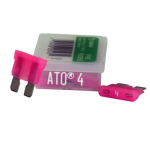 Littelfuse ATO Series Fuse   4 Amp   5 Pack