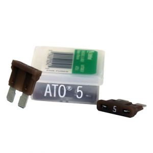 Littelfuse ATO Series Fuse | 5 Amp | 5 Pack