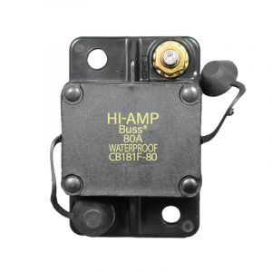80 Amp Auto Reset Circuit Breaker (Surface Mounted)