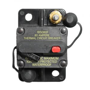 80 Amp Manual Reset Circuit Breaker (Surface Mounted)