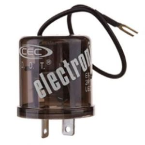 Electronic LED Flasher | 12-Volt, 25-Amp | 2-Pin