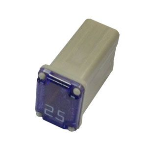 Bussmann: 25 Amp Micro MCASE Cartridge Fuse - (Each)