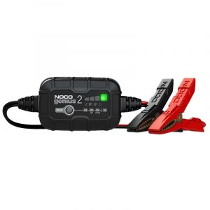 NOCO Genius 6/12V | 2-Amp Smart Battery Charger & Maintainer