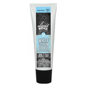 Liquid Wrench White Lithium Grease | 8 ounce Squeeze Tube