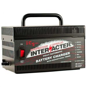 Interacter: 36 volt 20 AMP - SCR Battery Charger (Industrial)