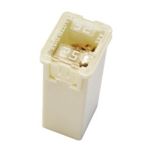 Littelfuse: J-Case Automotive Cartridge Fuse - 25 AMP