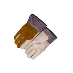 Majestic: Grain Cowhide Palm & Index Finger Gloves (X-Large)