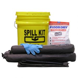 EnviroMet: 5 Gallon Pale ∼ Spill Kit (OIL)