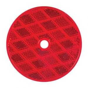 Optronics 3-Inch Red Reflector | Center Mount