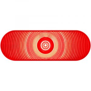 "Optronics: LED 6"" Oval Trailer Tail Light (Part# STL002RB)"