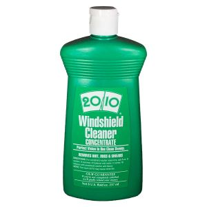 20/10: Windshield Cleaner Concentrate - 8 ounce (makes 1 Gallon)