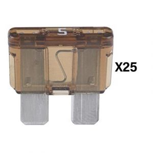 Littelfuse ATO Series Fuse | 5 Amp | 25 Pack