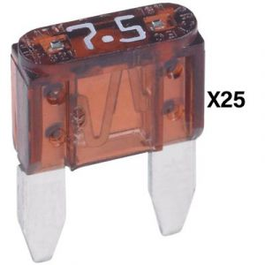 Littelfuse ATO Series Fuse | 7.5 Amp | 25 Pack