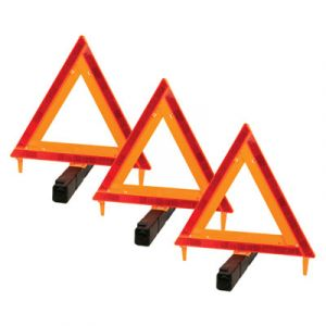 Performance Tool D.O.T. Warning Triangle | 3 Pack