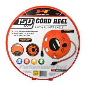 Performance Tool: Heavy Duty Cord Reel 150FT
