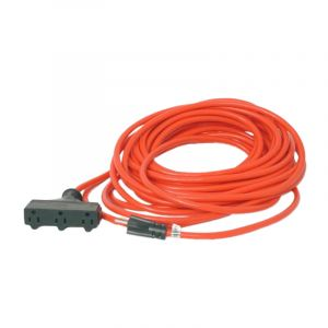 Heavy-Duty Extension Cord | 3 Outlet | 25 Foot Long