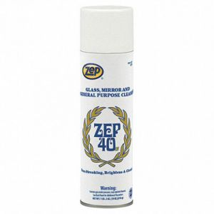 Zep40 Glass, Mirror and General Purpose Cleaner   18 Ounce Can
