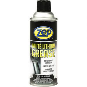 Zep White Lithium Grease | 11 Ounce Aerosol Can
