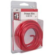 JT&T Red Primary Copper Wire | 10 Gauge, 8 Feet