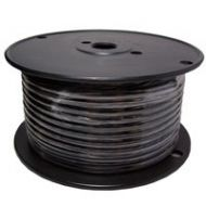 Black Automotive Primary Copper Wire | 8 Gauge, 100 Feet