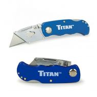 Titan: Folding Pocket Utility Knife Blue | Part# 11018