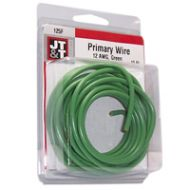 JT&T Green Primary Copper Wire | 12 Gauge, 12 Feet