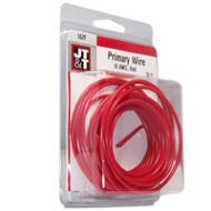 JT&T Red Primary Copper Wire | 16 Gauge, 20 Feet