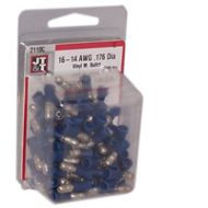 "Male Bullet Terminal | 16-14 Gauge, 0.176"" Head 