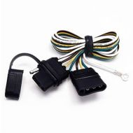 JT&T: 2 Ft Trailer Extension 4-Wire Harness 1 Pc