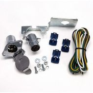 JT&T 4-Pole Round Trailer Wire Assembly Kit | 20 Amp