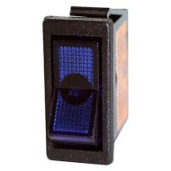 JT&T Blue-Illuminated Rocker Switch | On/Off | 20 Amp