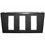 "JT&T 3-Rectangle Slot Switch Mount | 7/16"" x 1 1/8"""