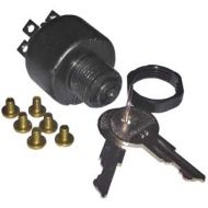 Pollak Marine Ignition Switch | Magneto | 3 Position