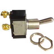 Pollak Momentary-ON Toggle Switch | 12 Volt, 20 Amp