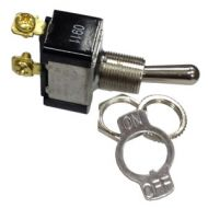Pollak SPST Heavy-Duty Toggle Switch | 12 Volt, 20 Amp