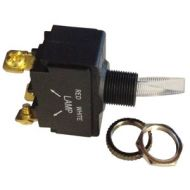 Pollak SPST Illuminated Toggle Switch | 12 Volt, 20 Amp