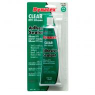 Dynatex: Silicone Sealant/Adhesive - Clear (3 ounces)