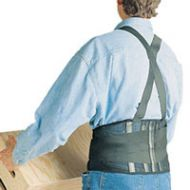 """SAS Safety Back Support Belt with Suspenders 