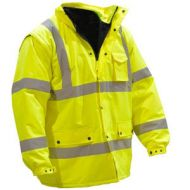 M-Safe Waterproof Hi-Vis Parka & Quilted Liner