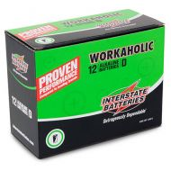 Interstate Workaholic Alkaline Battery | Size D | 12-Pack