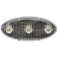 ECCO: Stick-A-LED Red Oval Warning Light (Part#: ED0002R)