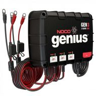 NOCO Genius 3-Bank 30 Amp | Waterproof On-Board Battery Charger