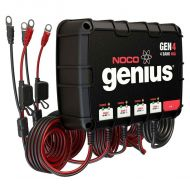 NOCO Genius 4-Bank 40 Amp | Waterproof On-Board Battery Charger