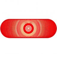 """Optronics: LED 6"""" Oval Trailer Tail Light (Part# STL002RB)"""